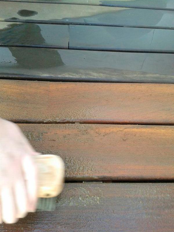 limpiar suelos para terraza